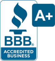 Garage doors Spring TX BBB A+ rating logo