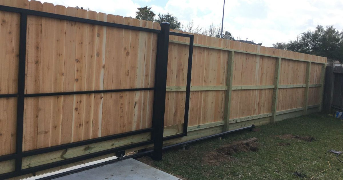 Automatic Fence Gate | Sentry Garage Door & Repair Service